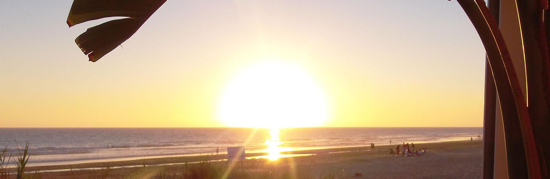 La Torre Sonnenuntergang