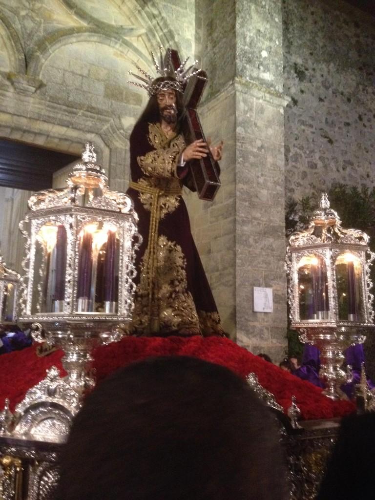 Paso Jesús Nazareno a la salida, vejer-by-manuel