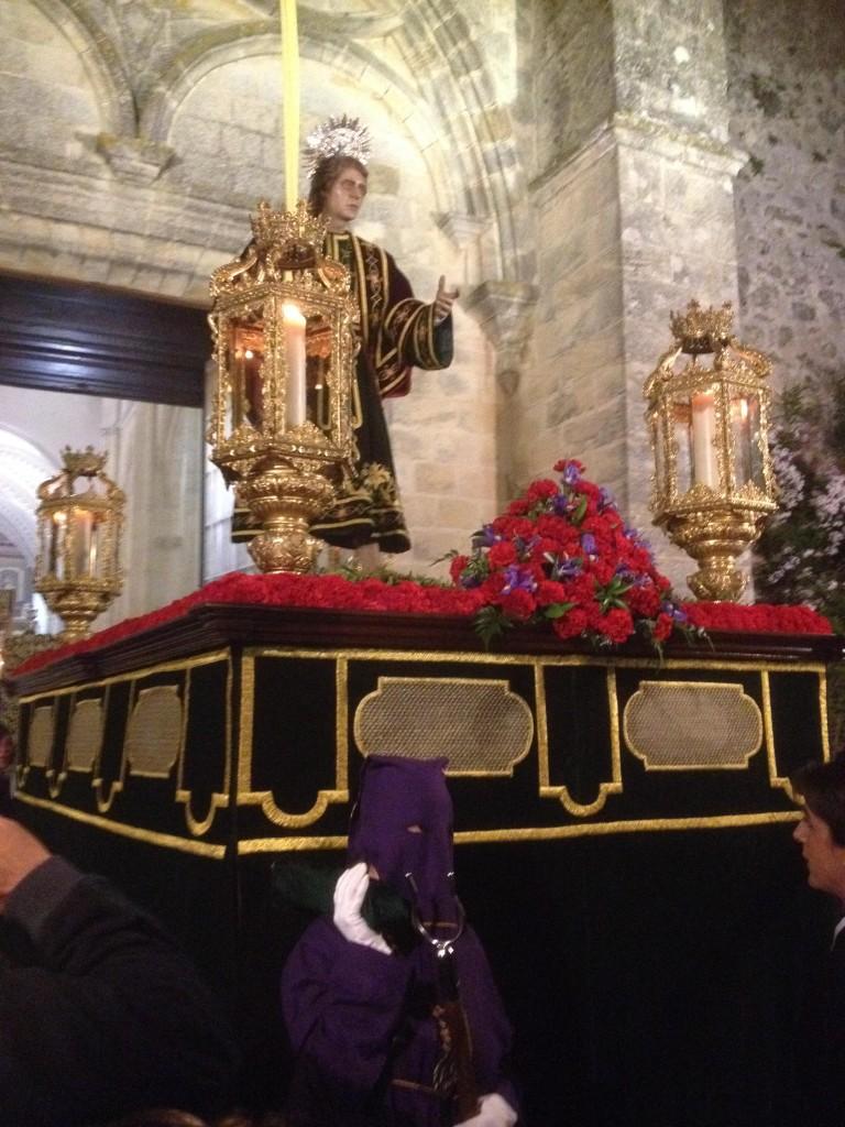 San Juan Evangelista a la salida, vejer-by-manuel