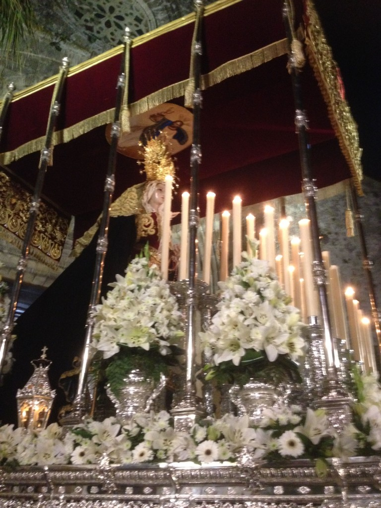 Virgen de los Dolores a la salida, vejer-by-manuel
