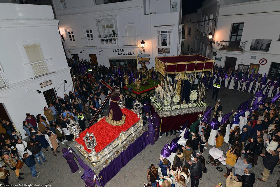 Procesión Jueves Santo, Plazuela, vejer-by-manuel.com