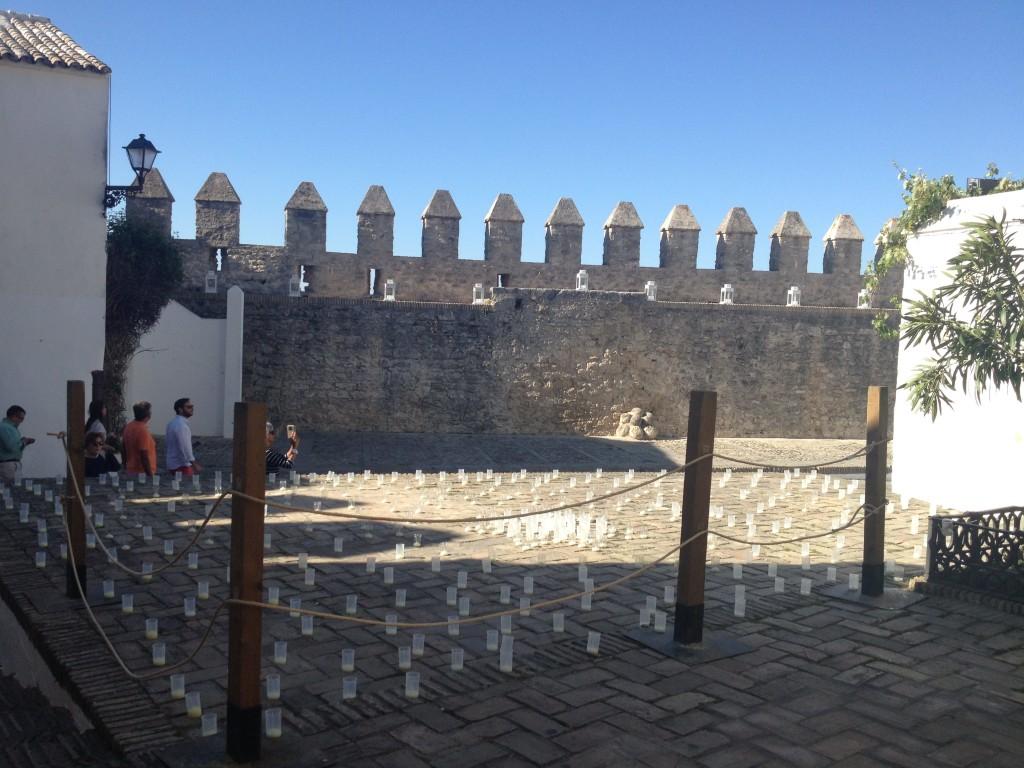 Platz Murallas de la Segur