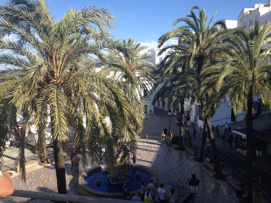 Plaza de España...