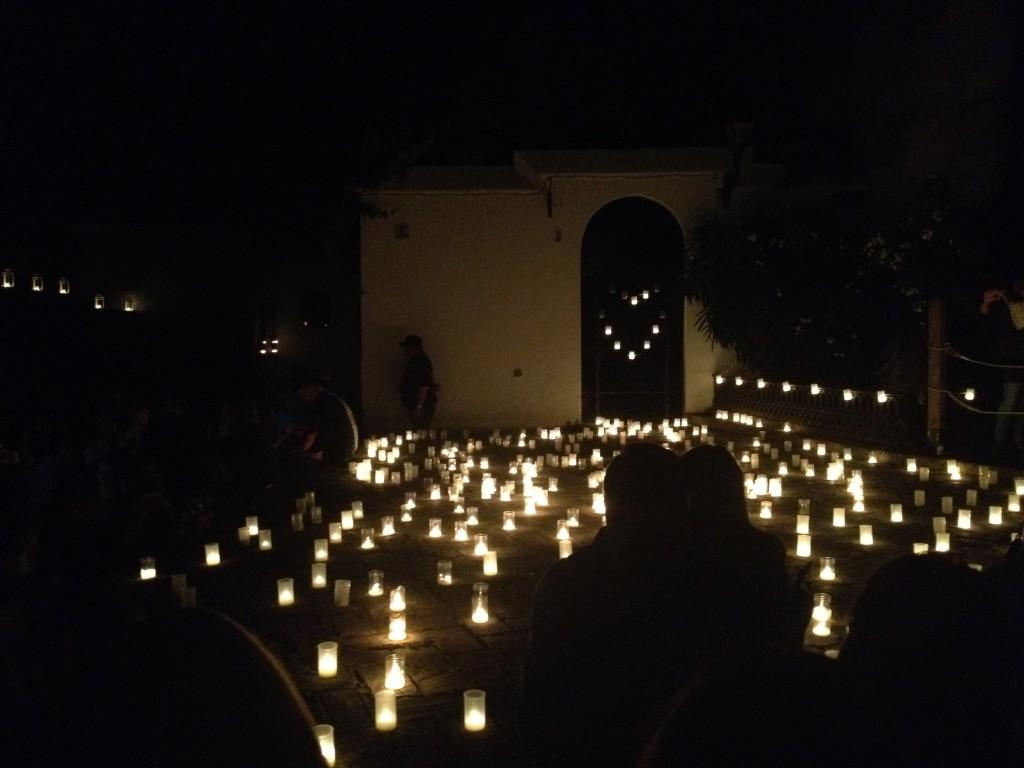 .... und während der Nacht der Kerzen