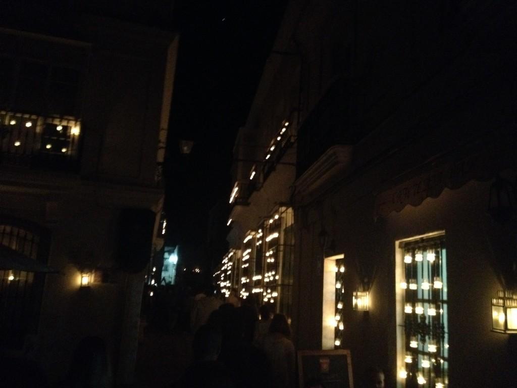 ...und im Kerznlicht