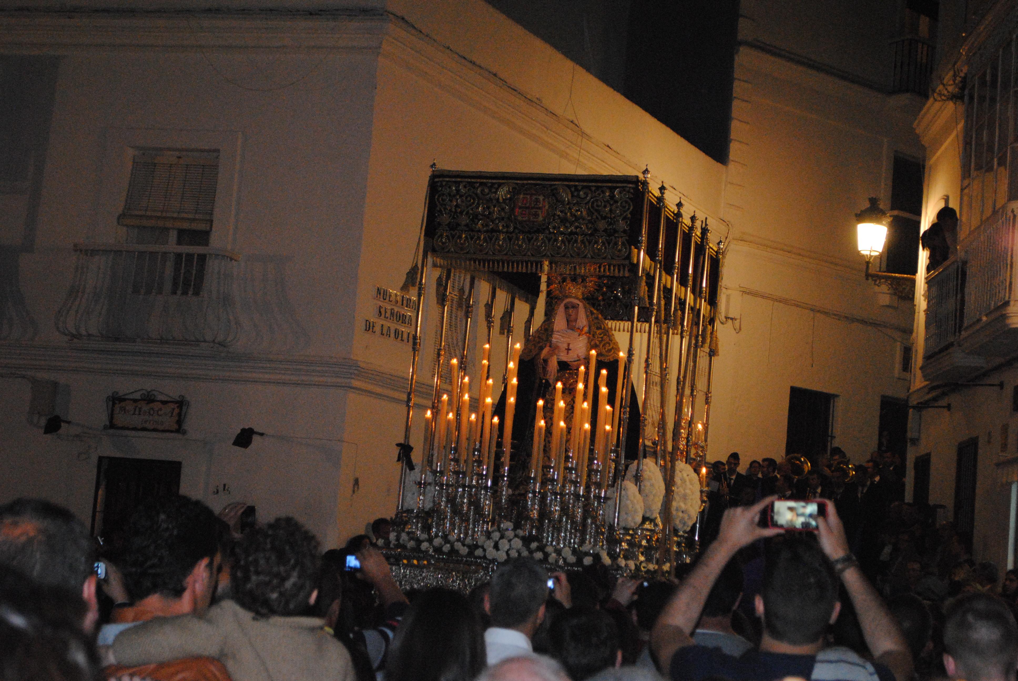 Prozession in  Vejer de la Frontera